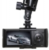 Tvåögd Bilkamera + Backkamera, gps loggning