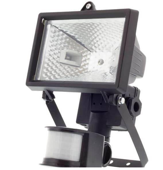 Sensor LED strålkastare