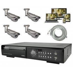 Övervakningssystem utomhus