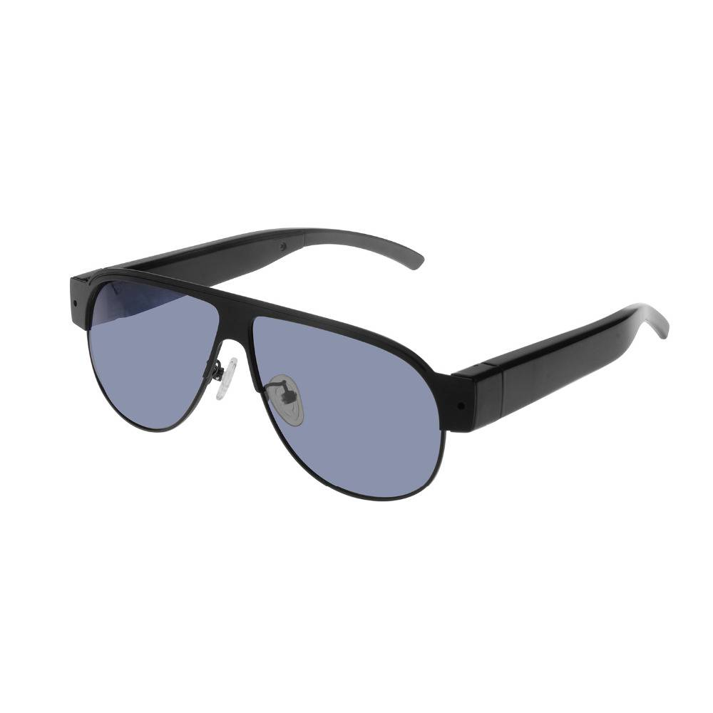 Diskreta spionsolglasögon med gömd FullHD actionkamera, 1920x1080