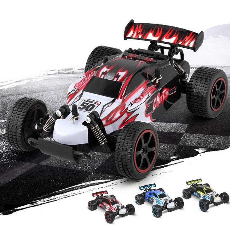 Mad Runner RC-bil, 1:20-skala, topphastighet 25 km/h, inkl. 2 batterier och kontroller thumbnail