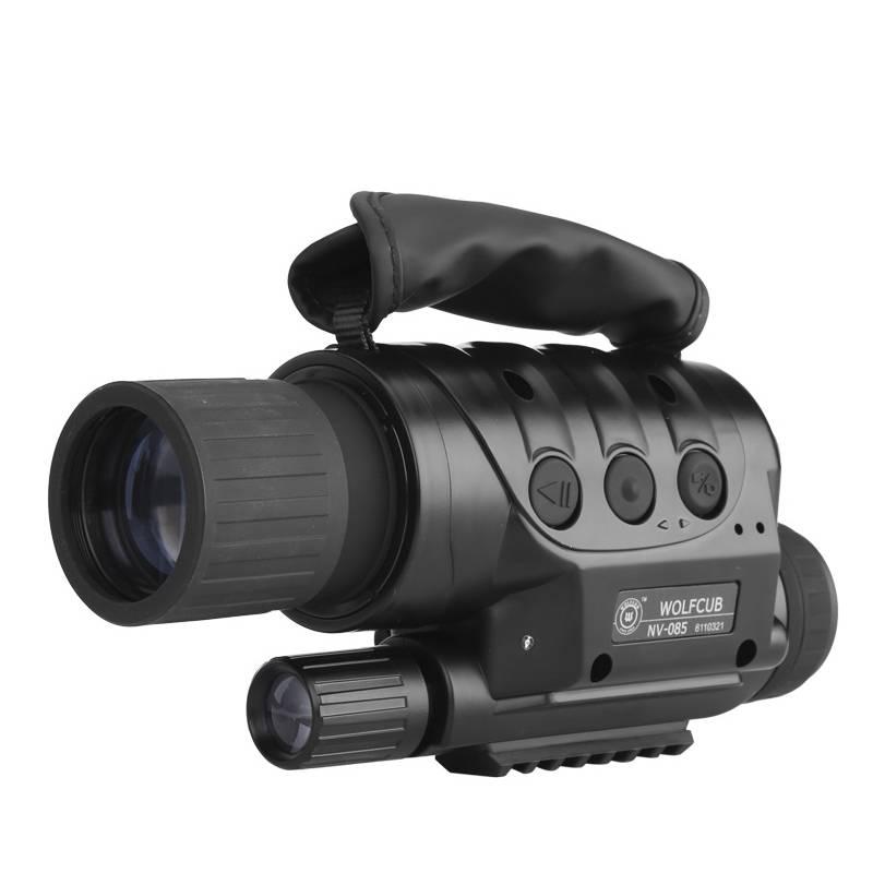Nattkikare med inbyggd kamera (4x Zoom)