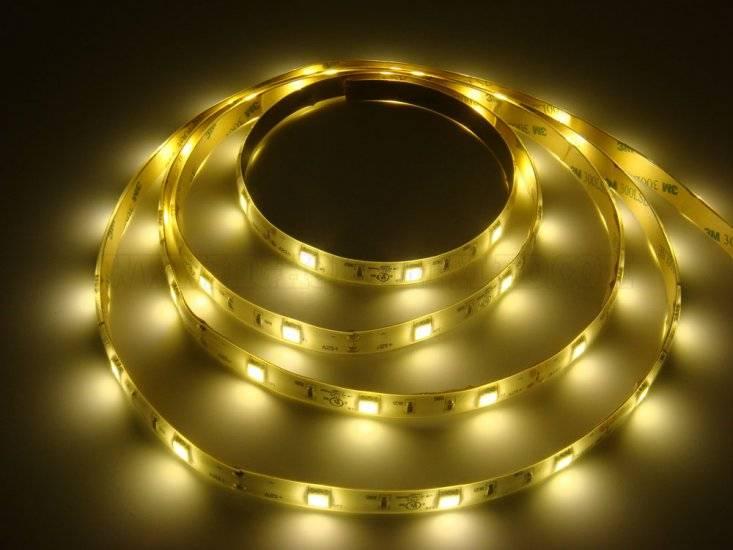 LED-List 5m, 12V, 7.5w/m, 30 LED/m - Varmvit thumbnail