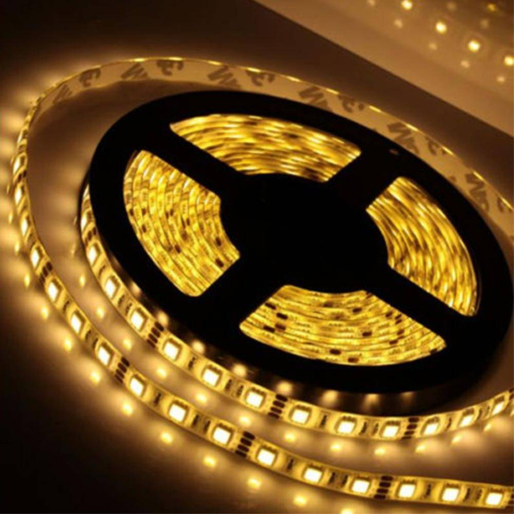 LED-List 5m, 60 LED/m - Varmvit, Vattentät thumbnail