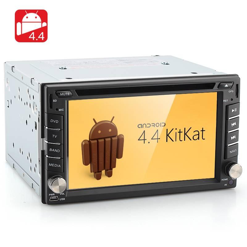Android DVD-spelare för bil med GPS, Wifi, 3G