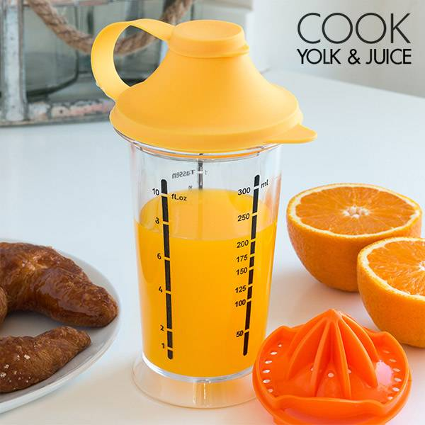 Mixerglas med juicepress Cook Yolk & Juice