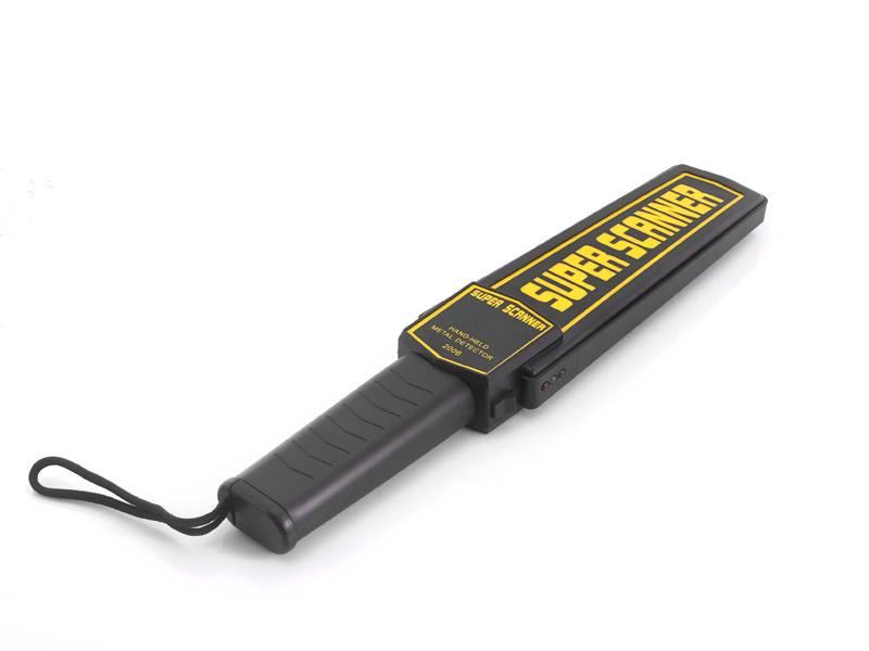 Bärbar metalldetektor, med ljud och vibrationsvarning thumbnail