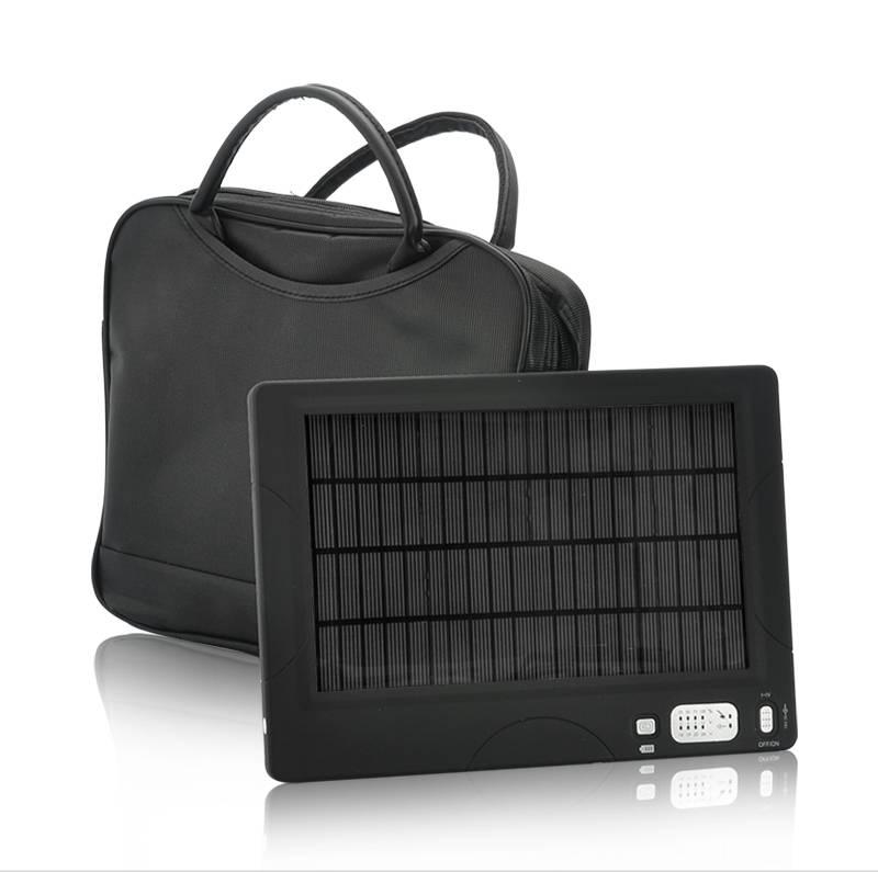 Bärbart högkapacitetsbatteri med solcellsladdare 54500 mAH thumbnail
