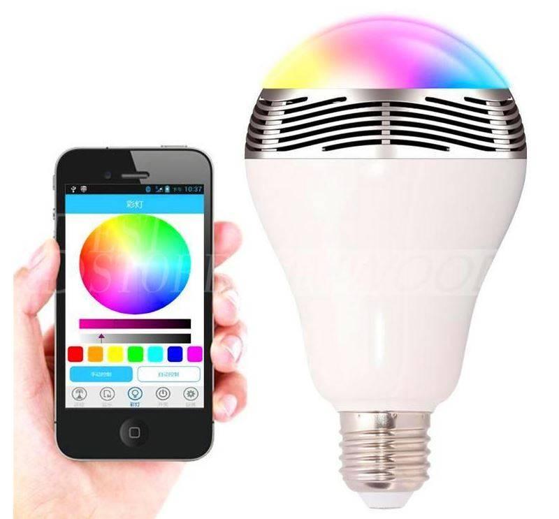 Köp Färgskiftande LED lampa iSunroad 9 Watt, 420 Lumen, 2