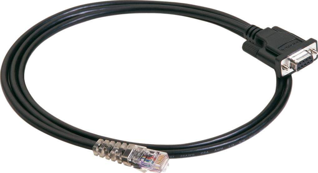 RJ45-kabel till Moxa Nport-server, 1xDB9ho, 1,5m
