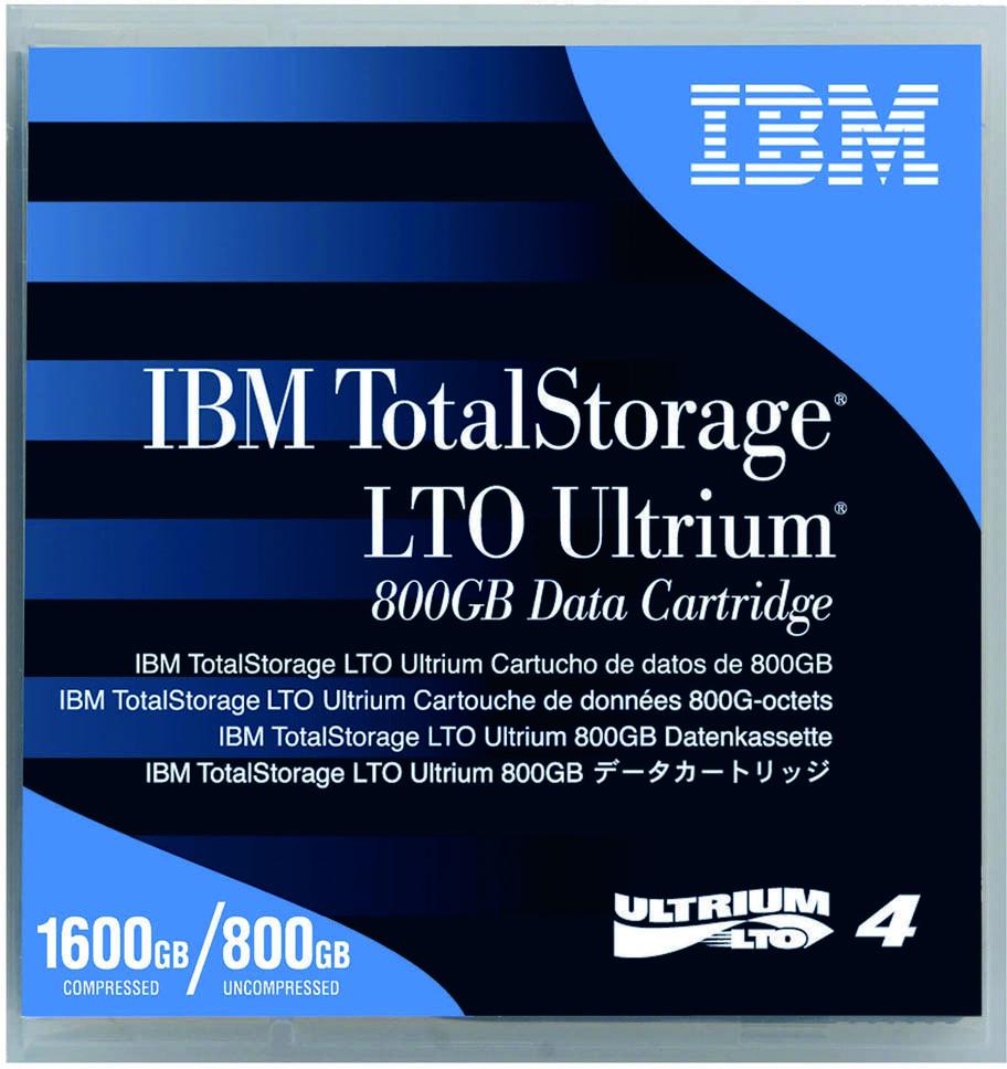 IBM LTO4 800GB/1.6TB Tape