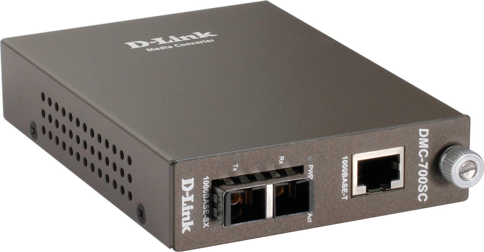 D-Link Medieomvandlare 1000Base-SX, 1000Base-T thumbnail