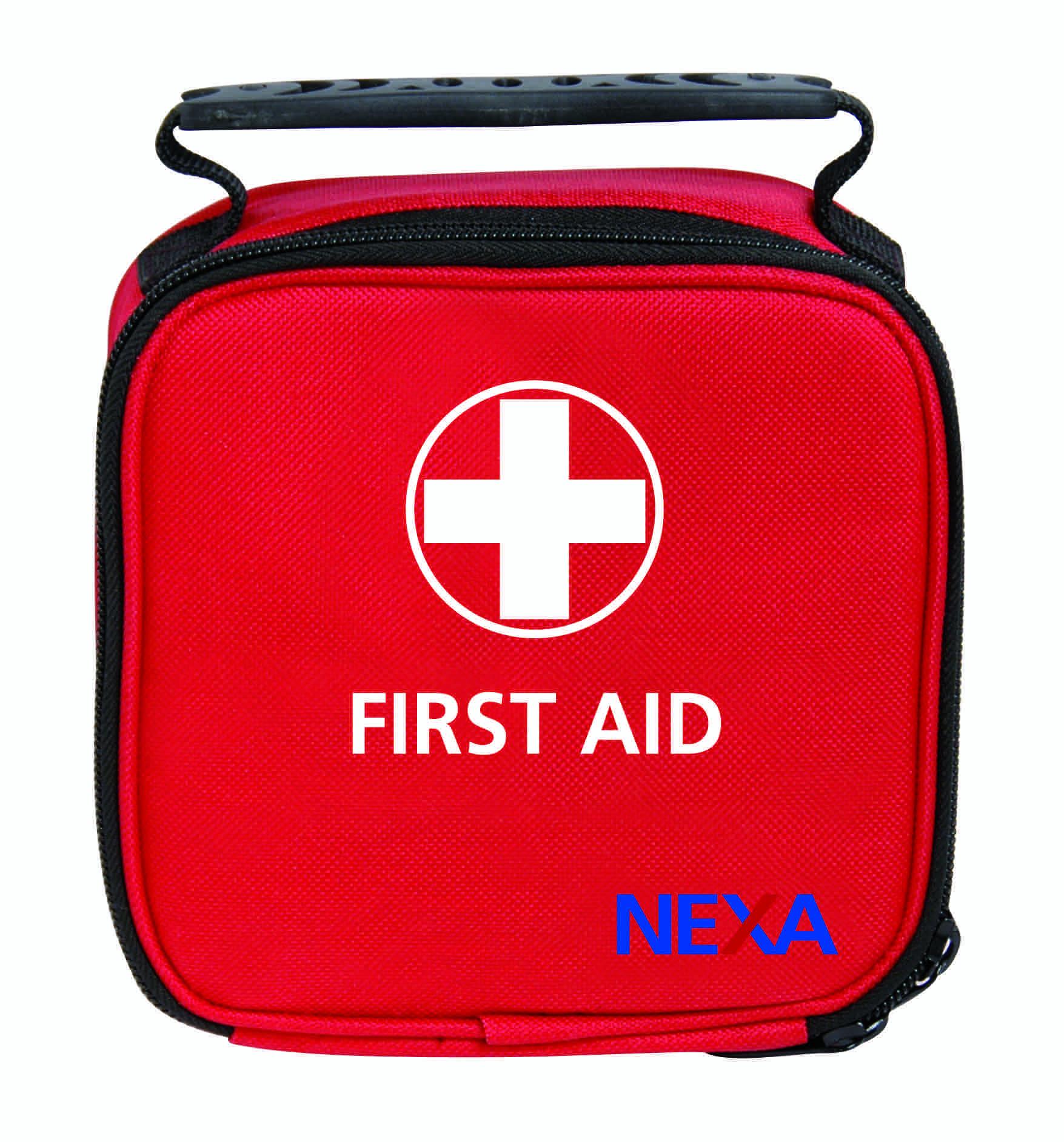 Nexa Första Hjälpen Mini, grundläggande förbandsset i rymlig väska, 35