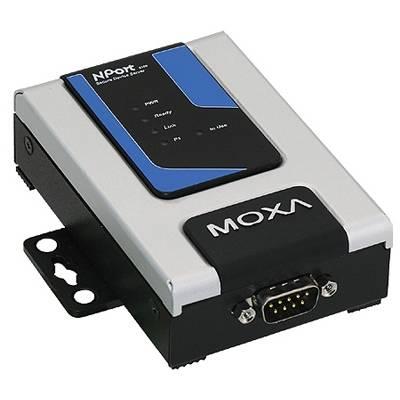 Moxa NPort serieportsserver, SSL/SSH, 1xDB9ha, RS-232/422/485, 12-48V