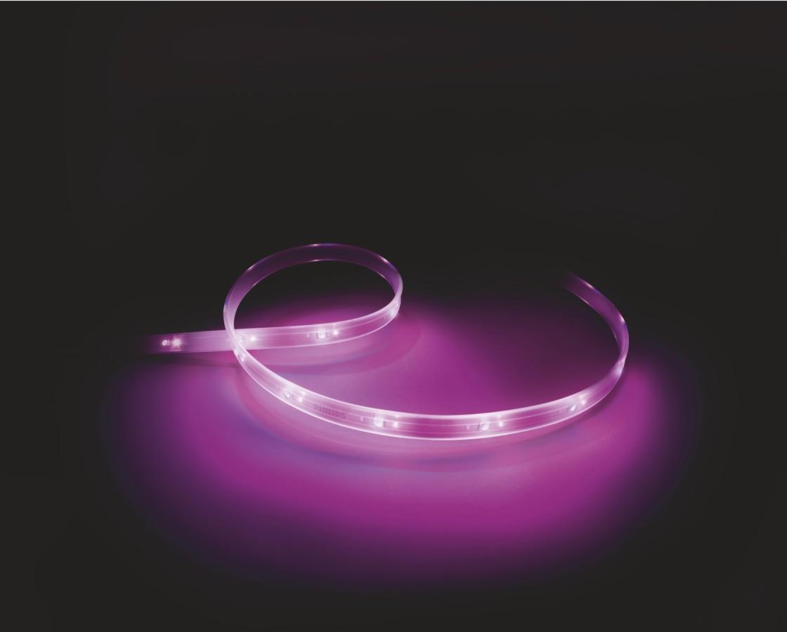 Philips Hue lightstrip plus förlängning 1 meter, trådlös LED-list thumbnail