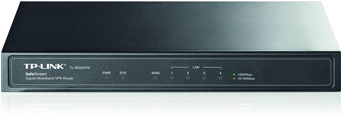 TP-LINK, router 1xWAN, 4xLAN, VPN-stöd