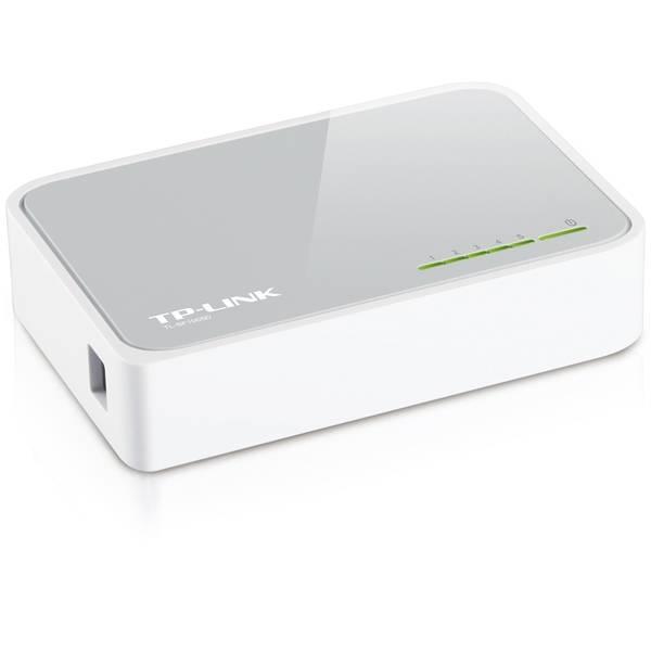TP-LINK nätverksswitch, 5-ports, 10/100 Mbps, RJ45