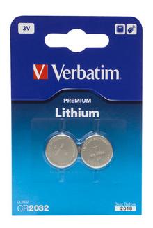 Verbatim CR2032 3V Lithium Battery 2p thumbnail