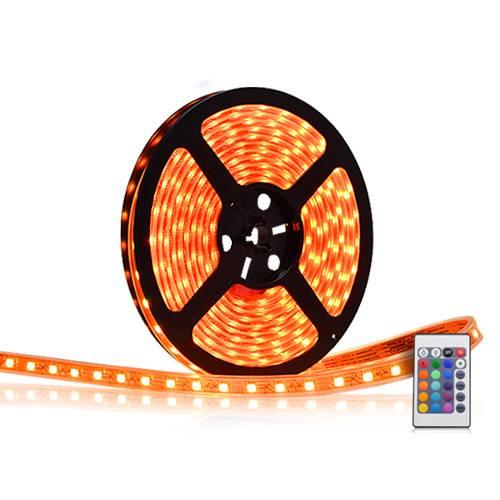 Flexibel LED-strip 7 meter - 210 lampor, fjärrkontroll thumbnail