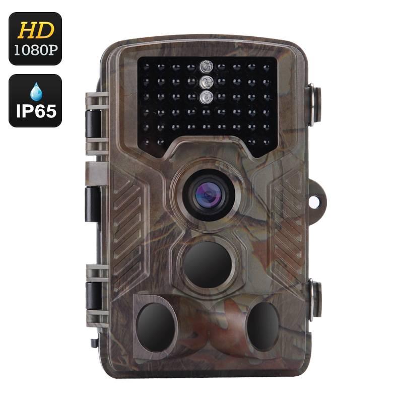 Full HD Jakt & Åtelkamera, rörelsedetektor, video & bilder, IR mörkersyn