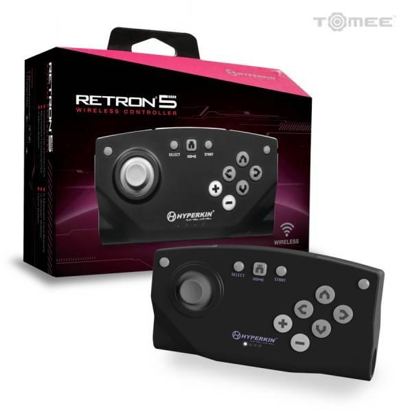 Handkontroll - Retron 5 Trådlös bluetooth spelkontroll