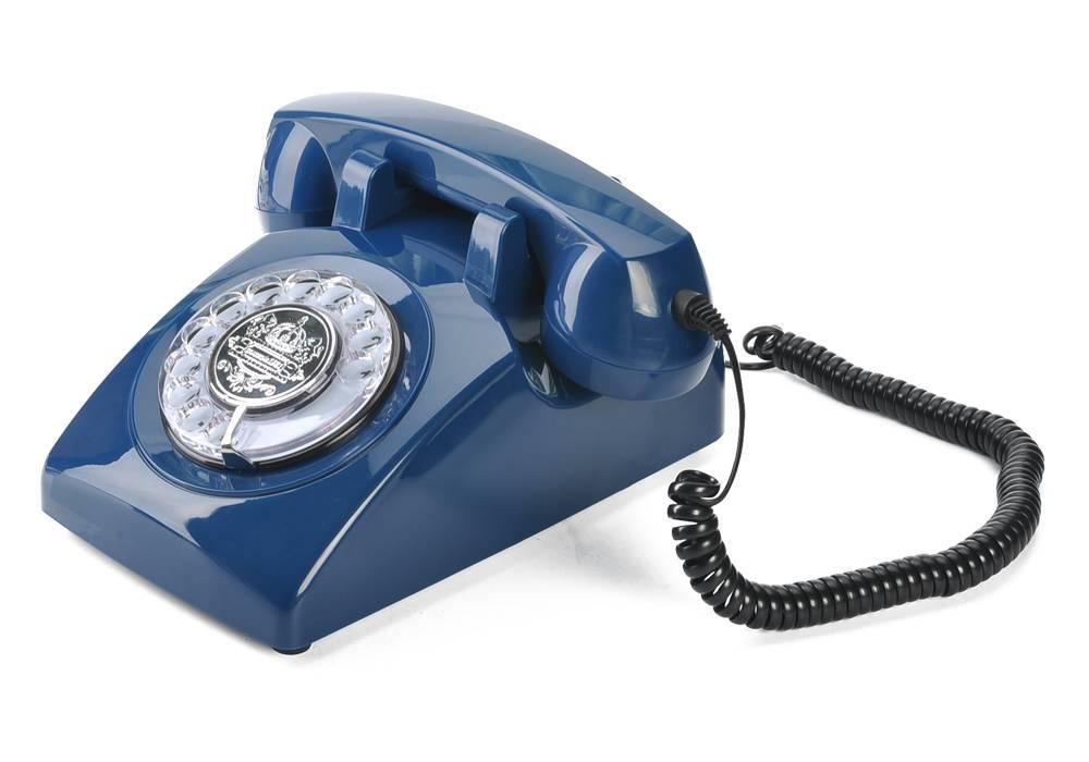 Klassisk roterbar retro telefon thumbnail