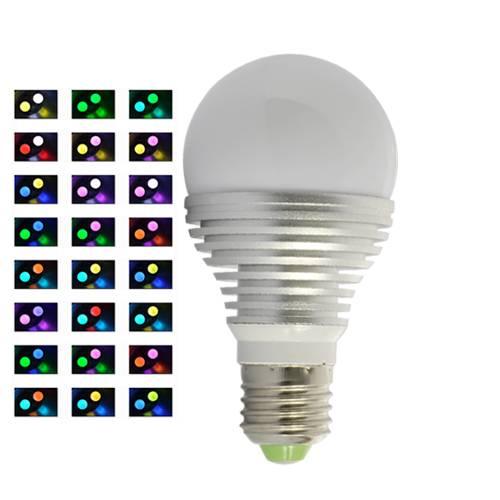 LED lampa som kan skifta färg med fjärrkontroll