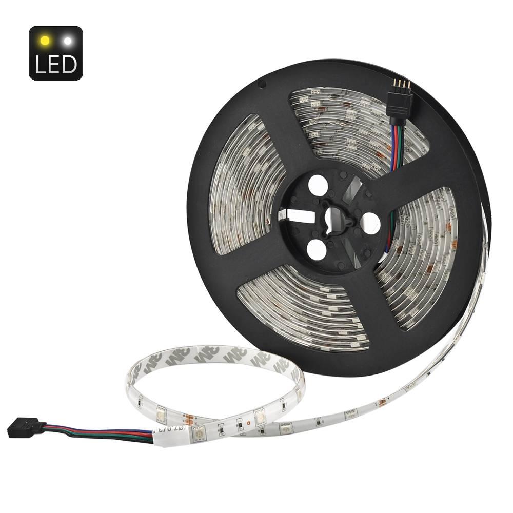LED-strip 5 meter - 150 lampor och fjärrkontroll thumbnail