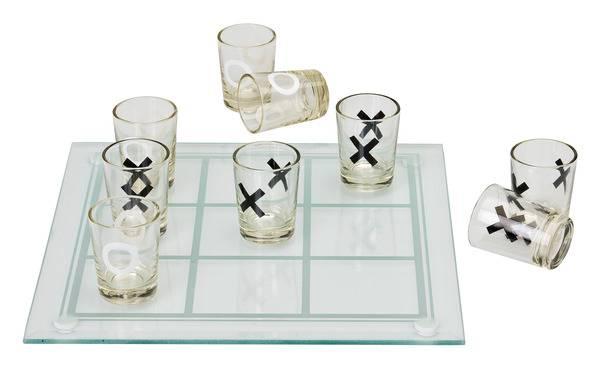 Luffarschack med shotglas thumbnail