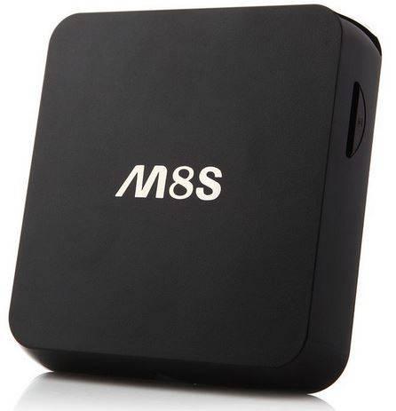M8S, Androidbaserad mediaspelare för smart-TV