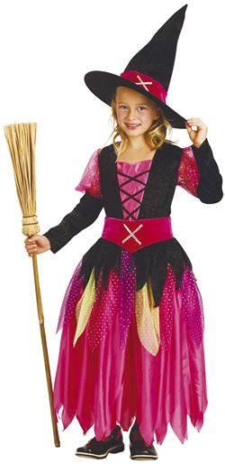 Maskeraddräkt Kid Pink Witch Stl 110-116 fdd7a5fc9d0ea
