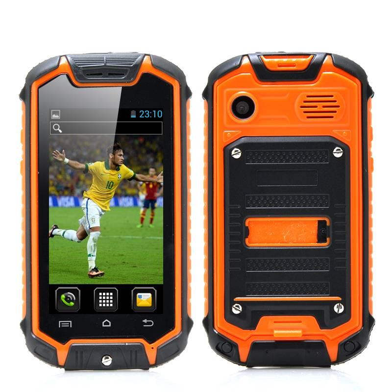 Mini nano vattentät mobiltelefon med Android 4.4 och bluetooth