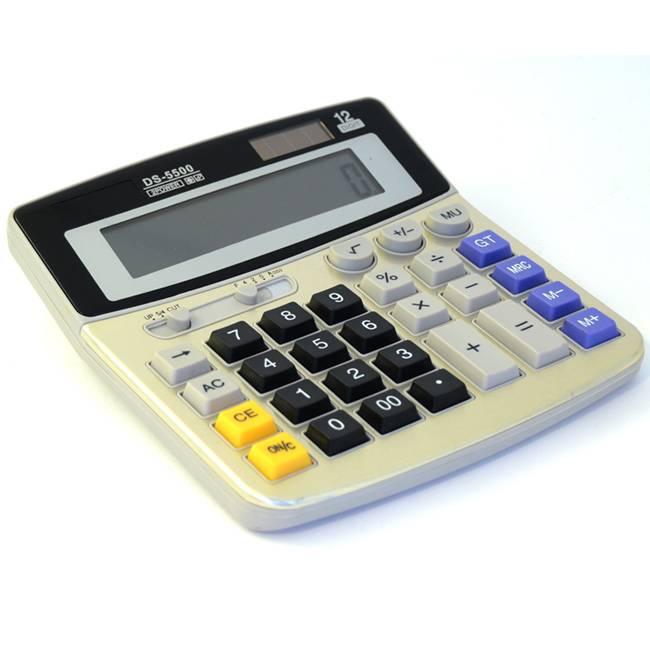 Gsm Bugg i form av fungerande miniräknare