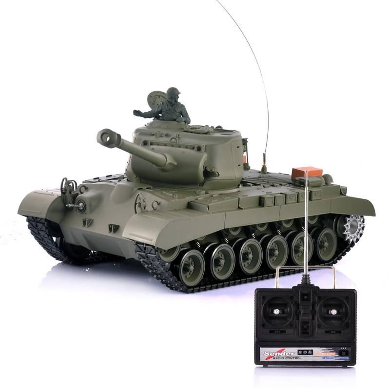 Radiostyrd Stridsvagn Leopard I, med rörlig airsoft kanon thumbnail