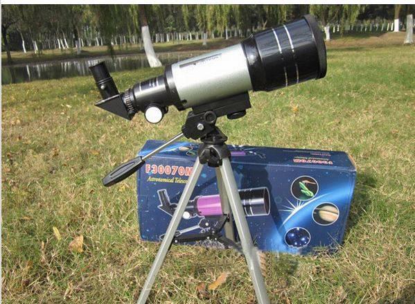 Monokulärt teleskop med 150x förstoringsgrad thumbnail