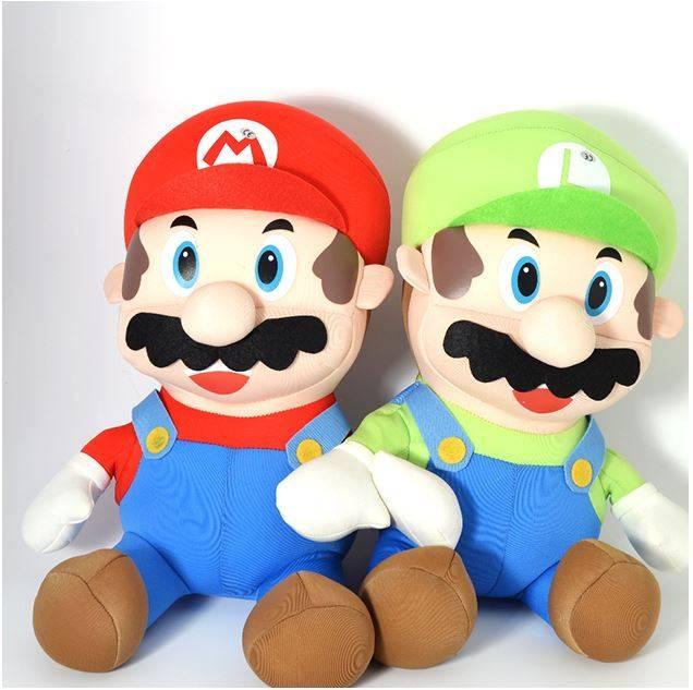 Nintendo Super Mario Mjukisdjur, Mario + Luigi thumbnail