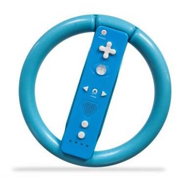 Nintendo Wii Racing Ratt (blå)