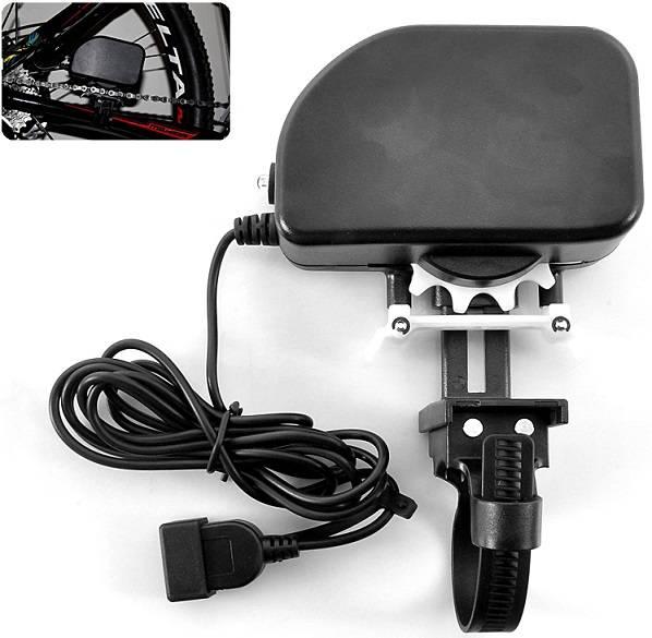 Pedaldriven cykelkedjeladdare för USB thumbnail