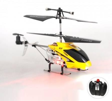 Radiostyrd Helikopter med lampor