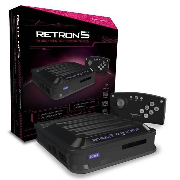 RetroN 5 Spelkonsol - Svart