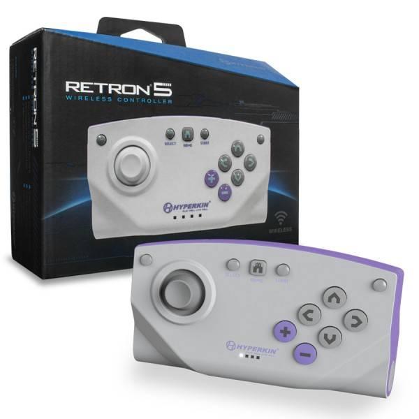 Retron 5 trådlös spelkontroll, bluetooth