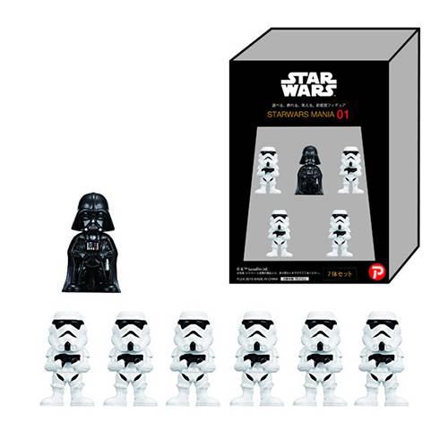 Star Wars-figurer, Darth Vader och Stormtroopers thumbnail