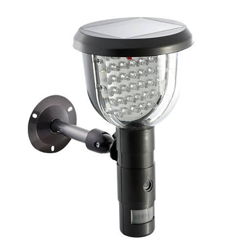 Utomhuslampa med inbyggd kamera, rörelsedetektor & strålkastare