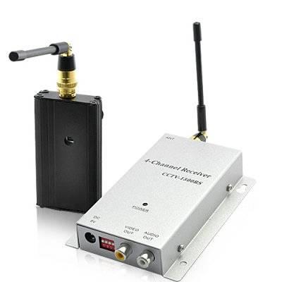 Trådlös signalförstärkare - Gör övervakningskameran trådlös - 1km
