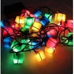 Inomhus LED-ljusslinga med flerfärgade paket thumbnail