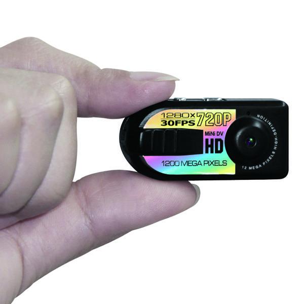 Världens minsta 720p digitalkamera, spion