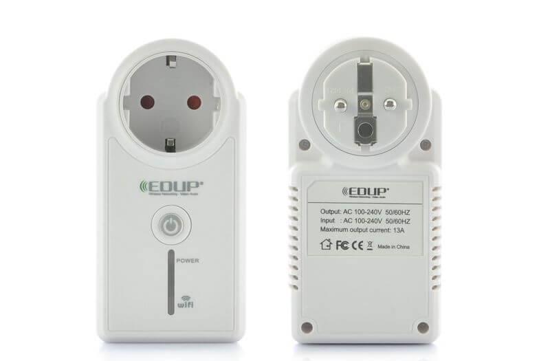 WI-FI Vägguttag / strömbrytare, fjärrstyr elprylarna över internet