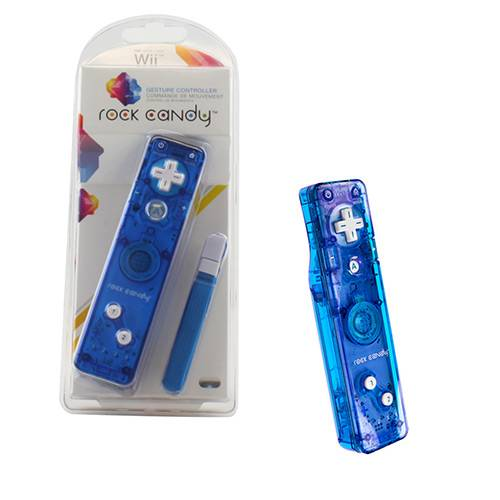 Wii / Wii U Remote plus controller, Rock Candy Blueberry boom