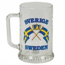 Ölsejdel med Sverige flaggor thumbnail