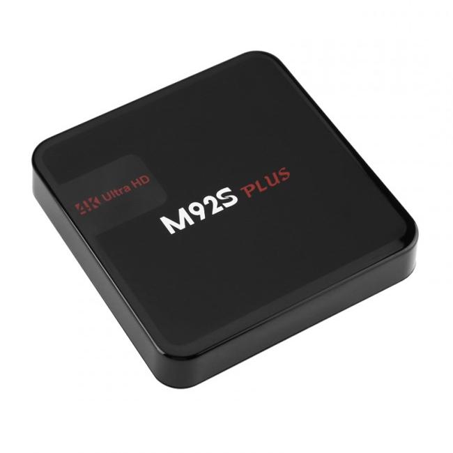 M92S Plus Android 7.1 mediaspelare, Octa-core, 4K, WiFi, Kodi, Google Play